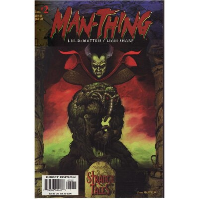 Man-Thing Strange Tales 2