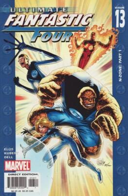 Ultimate Fantastic Four 13