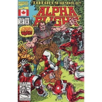 Alpha Flight 115 (Vol. 1)