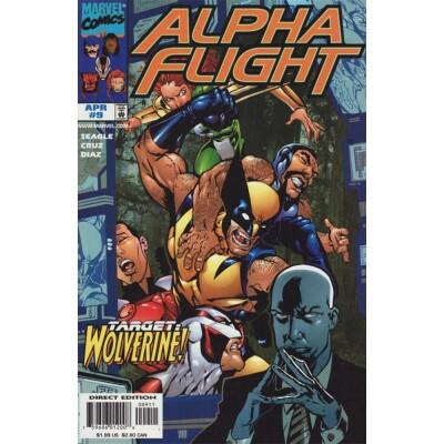 Alpha Flight 9 (Vol. 2)