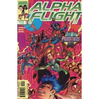 Alpha Flight 10 (Vol. 2)