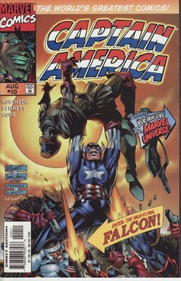 Captain America 10 (Vol. 2)