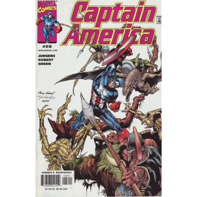 Captain America (Vol. 3) 28