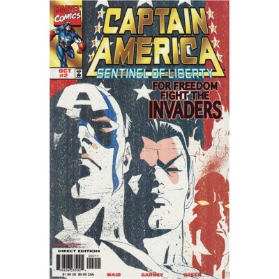 Captain America Sentinel of Liberty 02 Cover A