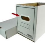 Comic Concept Griffeinsätze aus PVC weiß (1 Paar)