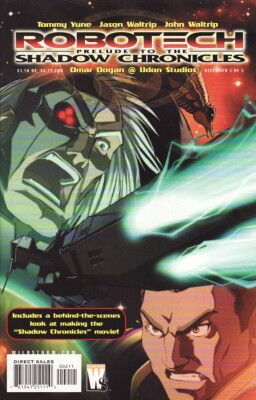 Robotech Prelude to the Shadow Chronicles 2 (of 5)