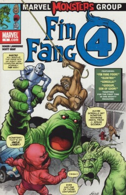 Marvel Monsters Group Fin Fang Four 1