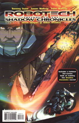 Robotech Prelude to the Shadow Chronicles 3 (of 5)