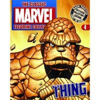 Classic Marvel Figurine Collection Magazin + Figur 4: Thing