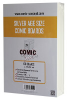 Comic Concept Silver Age Boards (178 x 266 mm)