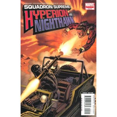 Squadron Supreme Hyperion vs. Nighthawk 2 (of 4)