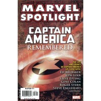 Marvel Spotlight 7 Captain America Remembered