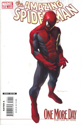 Amazing Spider-Man 544 Marko Djurdjevic Variant (Vol. 1)