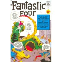 Marvel 60th Anniversary: Fantastic Four 1 (Gold Stamp)