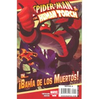 Spider-Man & The Human Torch in Bahía de los Muertos!
