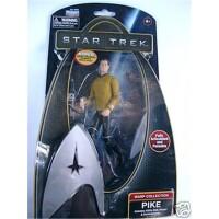 Star Trek 2009 Warp Collection Actionfigur: Pike