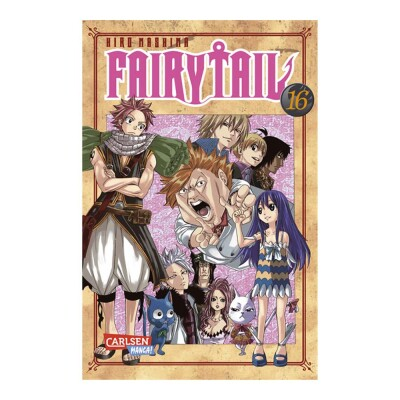 Fairy Tail 16 (Hiro Mashima)