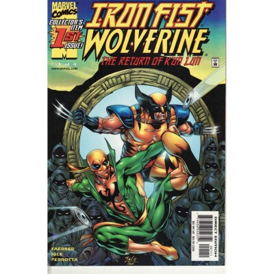 Iron Fist Wolverine 01 (of 4)