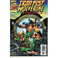 Iron Fist Wolverine 1 (of 4)