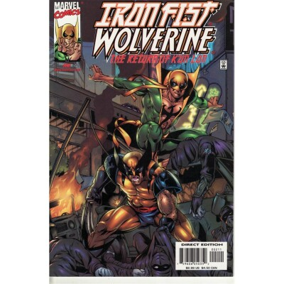 Iron Fist Wolverine 02 (of 4)