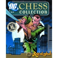 DC Comics Chess Collection Magazin + Statue 11: Ras...