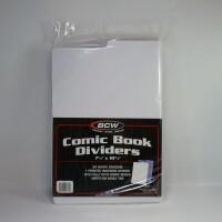 BCW Titeltrenner aus Plastik für Comics (weiß)...