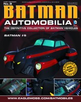 DC Batman Automobilia Collection Magazin + Modell 9:...