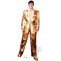 Celebrity Pappaufsteller (Stand Up) - Elvis Presley Gold...
