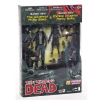 Walking Dead Comic Serie 2 Actionfigurenset: Governor &...