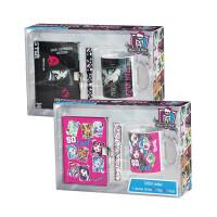 Monster High Geschenkset Tasse, Stift und Notizbuch