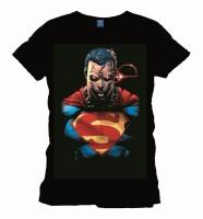 Superman T-Shirt - Eyes (schwarz)