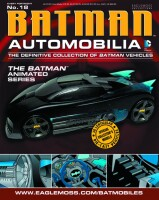 DC Batman Automobilia Collection Magazin + Modell 18:...