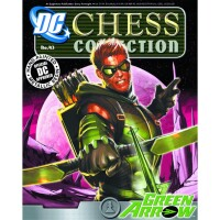DC Comics Chess Collection Magazin + Statue 43: Green...