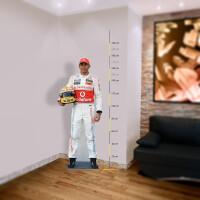 Formel 1 Pappaufsteller (Stand Up) - Lewis Hamilton (176 cm)
