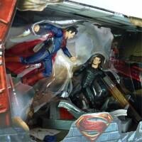 Man Of Steel Movie Masters Actionfigurenset: Superman vs....