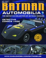 DC Batman Automobilia Collection Magazin + Modell 21:...
