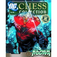 DC Comics Chess Collection Magazin + Statue 49: Black...