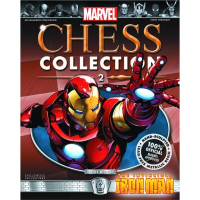 Marvel Chess Collection Magazin + Figur 2: Iron Man (White Bishop)