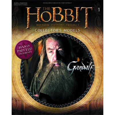 Der Hobbit Movie Figurine Collection Magazin + Figur 1: Gandalf der Graue
