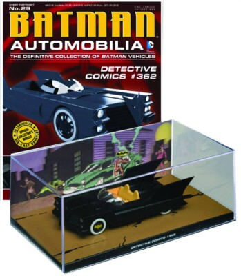 DC Batman Automobilia Collection Magazin + Modell 29: Detective Comics #362 Batmobil