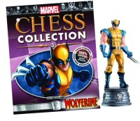 Marvel Chess Collection Magazin + Figur 3: Wolverine...
