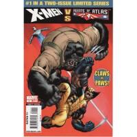X-Men VS Agents of Atlas 1
