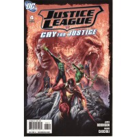 Justice League Cry for Justice 4
