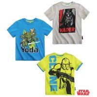 Star Wars The Clone Wars T-Shirt - Darth Vader, Clone...