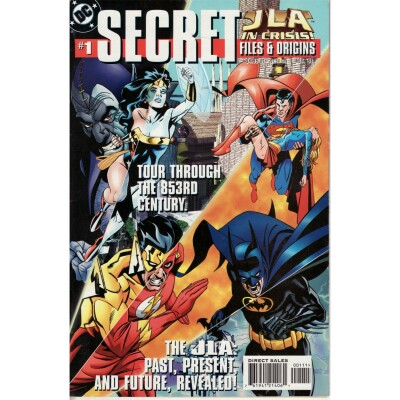 Secret Files JLA in Crisis 1