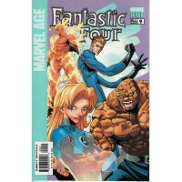 Marvel Age Fantastic Four 9