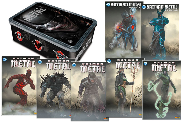 Batman Metal Box mit Varianten