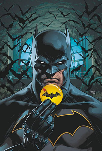 Batman Flash - Der Button