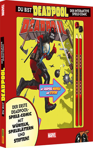 Deadpool Interaktiver Spiele-Comic